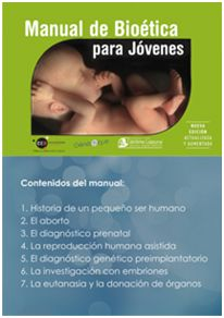 Manual de bioética para jóvenes Bioética Web