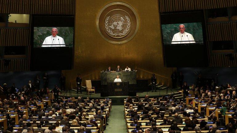 Mensaje del Papa Francisco ante la Asamblea de las Naciones Unidas. 25 de septiembre de 2015