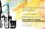 """XIII Congreso Nacional de Bioética: """"Eudaimonía. Valores y plenitud de vida"""""""